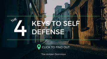 The 4 Keys to Self Defense – Self Defense Tips